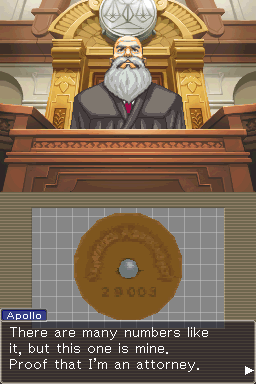 Thumbnail 1 for 2036 - Apollo Justice (USA) - 100% complete